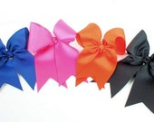 """Cheer Bows 2.25"""" solide color"""