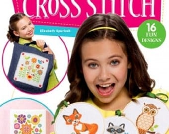 Book - I Can Cross Stitch: Easy Step-by-Step Instructions For Kids