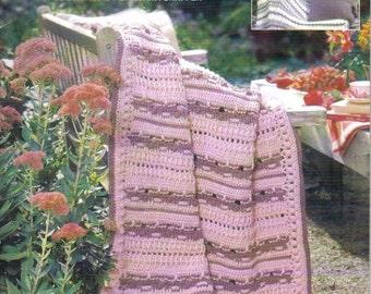 Fresh-Picked Afghans ~  Crochet Book  ~  Leisure Arts
