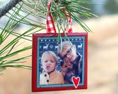 Custom Holiday Ornaments - Archive your holiday cards or favorite photos!