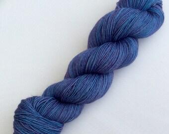Lilacs - hand dyed yarn 3.5 oz 437 yds