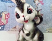 VERY RARE Vintage Antique Disney Style Thumper Bunny Rabbit Collectible Figurine or Cake Topper