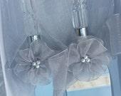 Embellished Wedding Cake Knife & Cake Server Set, Wedding Decor, Party Serving Utensil, Decorative Knife Set, Cake Server, Stainless Steel