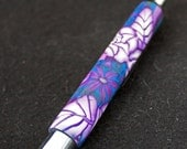 Original refillable purple rose ball point pen