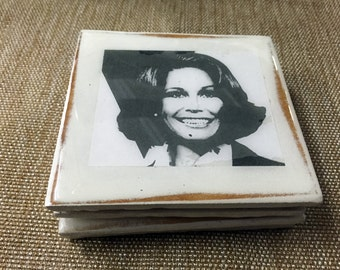 Old TV Sitcom Coaster Set: Mary Tyler Moore