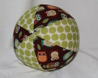 Brown Owls Boutique Ball Rattle Toy
