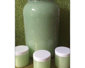 Wholesale Custom Made Sugar Body Scrub Base Gallon