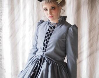 Gloomth Phantom Victorian Corset OverDress Jacket Your Size XS to XXL