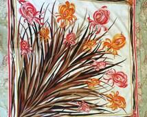 Vintage Emilio Pucci Floral Scarf