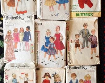Vintage Kids Patterns