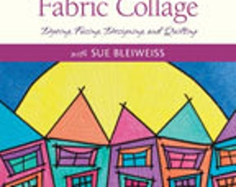 Coloring Book Fabric Collage DVD