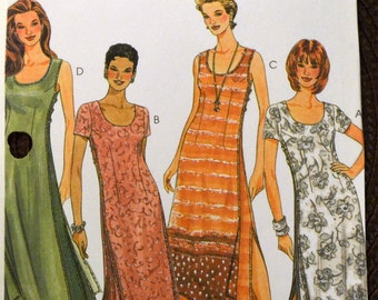 Sewing Pattern McCall's 2118 Misses' Dresses in size 8-12, bust 31-34 inches UNCUT Complete