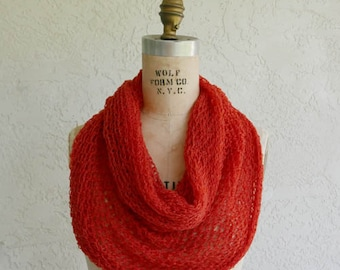 cashmere twisted cowl