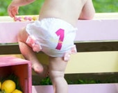 Diaper Cover For Girls - Baby Girl Bloomers - 1st Birthday Diaper cover - Baby Girl Tutu Diaper Cover