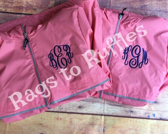 Personalized Charles River Raincoat-Monogrammed raincoat-Monogrammed Rain Jacket