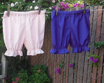Ready now!  PURPLE Toddler 4T Basic Bloomers Cotton