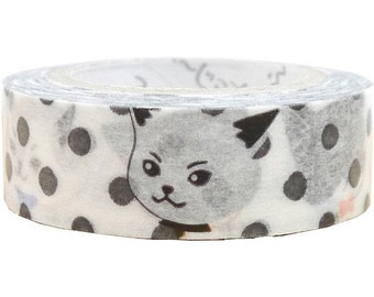 Dot Cat Pandora MT Masking Tape • Japanese Washi Tape (pb-mt-10007)