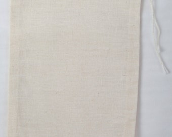 500 4x6 Cotton Muslin Drawstring Bags