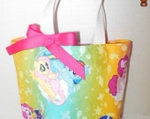 My Little Pony Purse/Gift Bag/Tote/Easter Basket