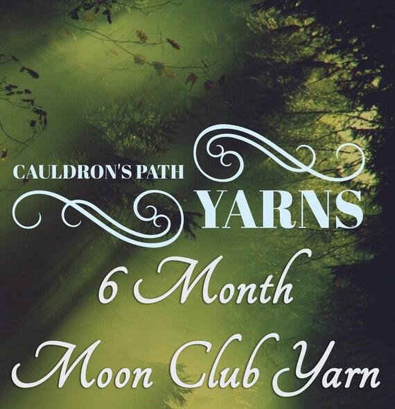6 Month Moon Yarn Club