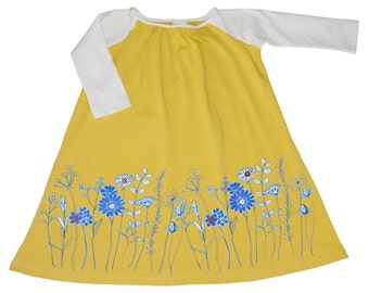 SAMPLE SALE -  Sadie Dress in Meadowsweet - Size 6