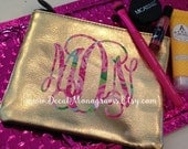Lilly Inspired Vinyl Decal, First Impressions, Monogram Decal