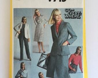 Simplicity 9715 Suit Pattern Size 10