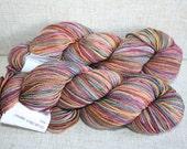 SALE! - Designer Sock Yarn Destash - 225yd - The Yarns of Rhichard Devrieze Peppino - Quietly Boldly