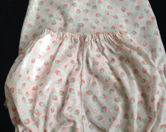 Vintage baby girl romper-dress & bloomers