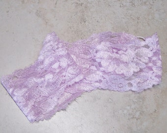 Lace Headband,Lace Hairband,Orchid Vintage Lace Hairband,Wide Lace Headband, Orchid Lace