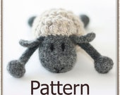 Woolly Lamb - Crochet Pattern (PDF) - INSTANT DOWNLOAD