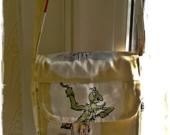 Cross Body Purse , James and the Giant Peach - Made To Order
