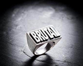sale- BRUTAL ring