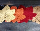 Special order for victorianlady1956 Leaf Shaped Place mats - Great decoration or place mats for dinner!!