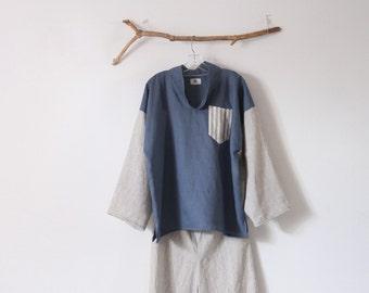 linen shirt by anny ready to wear xl xxl