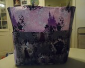 disney villians purple tote bag/purse/ diaper bag
