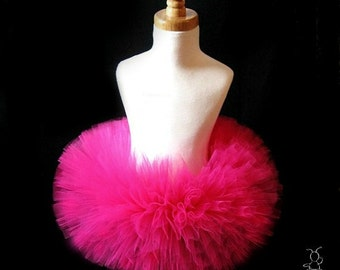First Birthday Outfit Girl Tutu, Cake Smash Outfit Girl Tutu, 1st Birthday Outfit Tutu Skirt, Tulle Skirt, Newborn Tutu, SEWN Tutu Gift