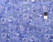 April Cornell Music Collection PWAC011 Jacob's Court Periwinkle Cotton Fabric By The Yard
