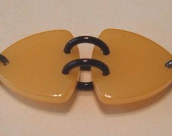 Bakelite Triangle Bracelet