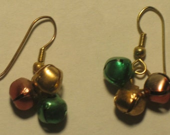 Pierced Bell Earrings for the Holidays