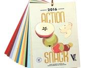 Action Snack 2016 Calendar