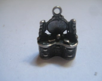 Vintage Silver Dressing Table Charm from the 40s or 50s