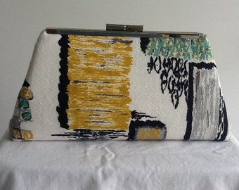 Clutch Bag & Accessories from Vintage Barkcloth