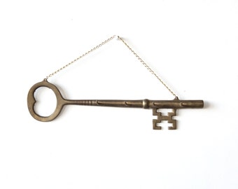 Brass Key Hook Holder