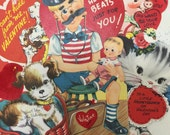 5 - Vintage Valentine Cuties great for scrap booking