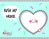 Rush My Order fee - Made and dispatched in 7 days