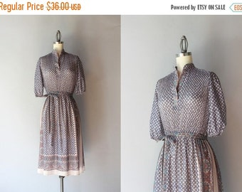 STOREWIDE SALE Reserved...1970s Dress / Vintage 70s Sheer Paisley Dress / Seventies India Inspired Dress