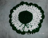 Dish Cloth with Scrubbie in Center