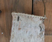 little show off - small birch bark basket made with all wild gathered materials