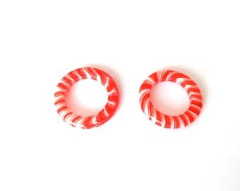 1pc Glass Circle Charm-Circle 28x28mm